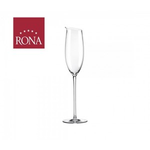 Rona 300ml Premium Two Champagne Mouth Blown Wine Glass