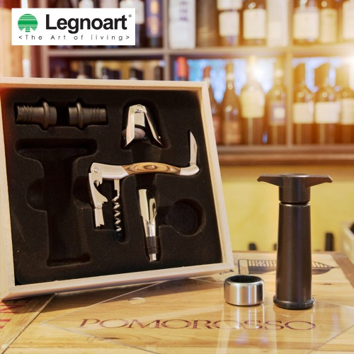 Legnoart Memorabile Wine Connoisseur Set (7 pcs)