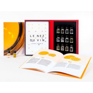 Le Nez Du Vin 12 White Wine and Champagne Aromas