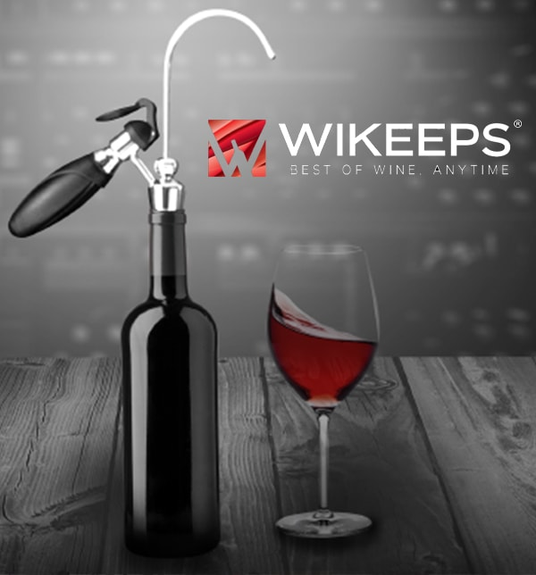 Wikeeps Wine Preservation System from France