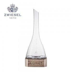 Zwiesel 1872 Iconics Wine Decanter with Wooden Base