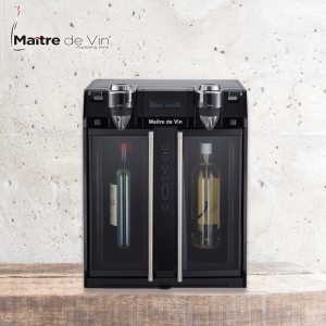 Maitre de Vin Multi-Function Wine Dispenser | Wine Fridge | 2-Bottle Wine Dispensers
