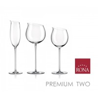 Rona 540ml Premium Two Mouth Blown Red Wine Glass