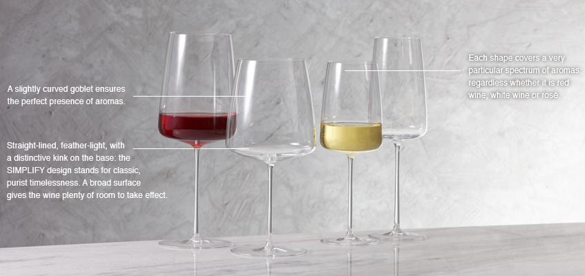 Simplify Wine Glass Maitre de Vin